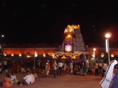 23 - Lord Venkatesware Temple by night